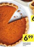 Compliments 9in Pumpkin Pie