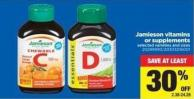 Jamieson Vitamins Or Supplements