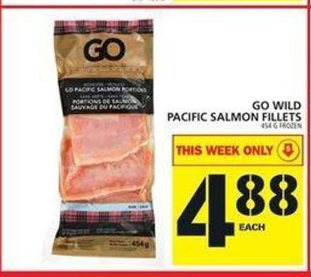 Go Wild Pacific Salmon Fillets