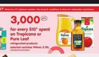 Tropicana Or Pure Leaf Refrigerated Products - 946ml-3.78l