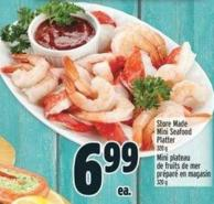 Store Made Mini Seafood Platter