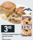 Ace Bakery Baguette Bagels Or Biscuits - 4's