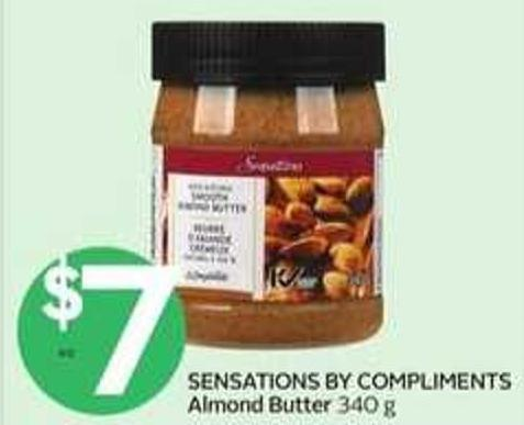 Sensations By Compliments Almond Butter