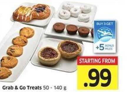 Grab & Go Treats 50 - 140 g -+ 5
