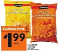 Selection Snacks 265 - 400 G