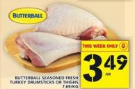 Butterball Seasoned Fresh Turkey Drumsticks Or Thighs