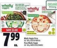 Wholly Veggie Pizza
