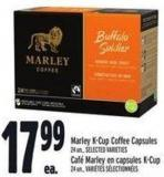 Marley K-cup Coffee Capsules 24 Un.