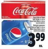 Coca-cola Or Pepsi Soft Drinks 12 X 355 ml Coca-cola Minis 8 X 300 ml
