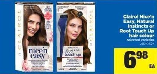 Clairol Nice 'N Easy - Natural Instincts or Root Touch Up Hair Colour
