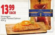Norwegian Cedar Planked Salmon 454 g