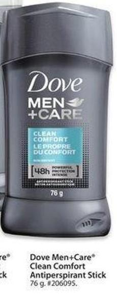 Dove Men+care Clean Comfort Antiperspirant Stick