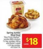 Spring Jumbo Meal Deal