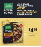 Healthy Choice All-day Breakfast Power Bowls - 204 g – 206 g