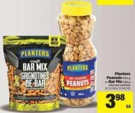 Planters Peanuts - 600 G Or Bar Mix - 550 G