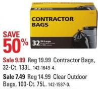 Contractor Bags - 32-ct