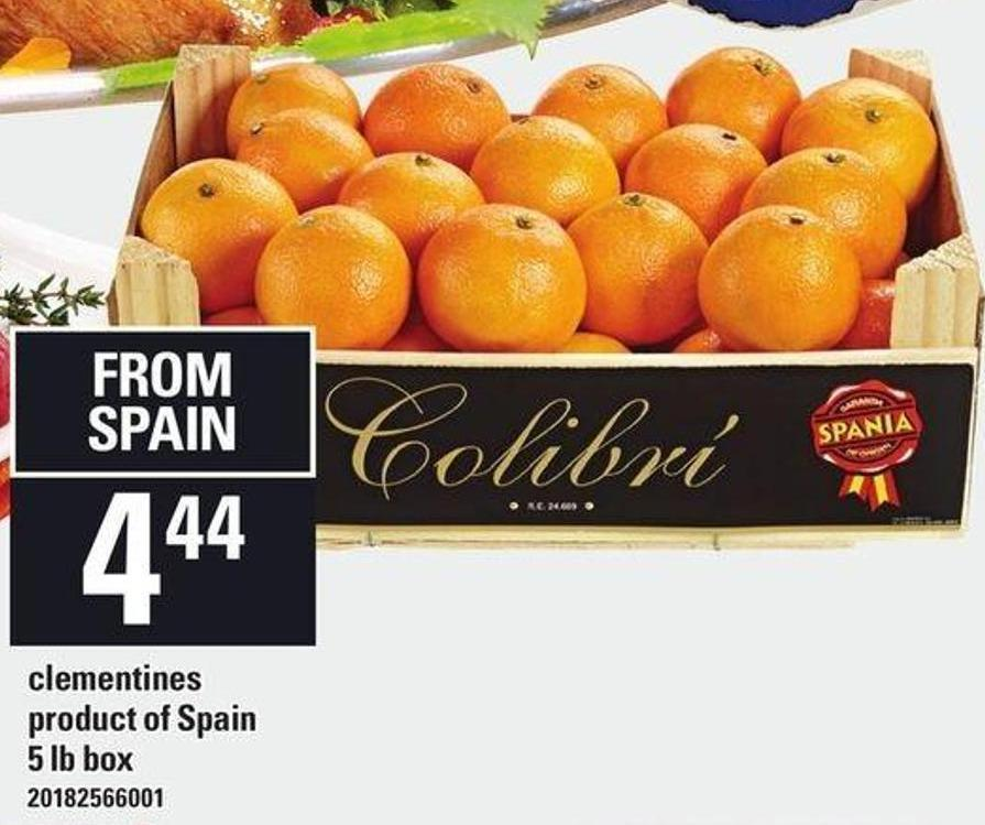 Clementines - 5 Lb Box