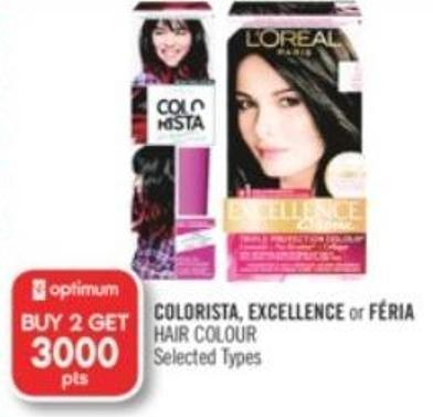 Colorista - Excellence or Féria Hair Colour