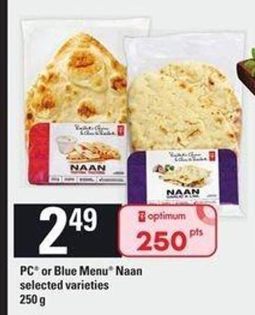 PC Or Blue Menu Naan - 250 g