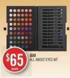 Quo All About Eyes Kit