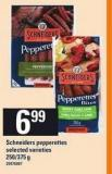 Schneiders Pepperettes - 250/375 g
