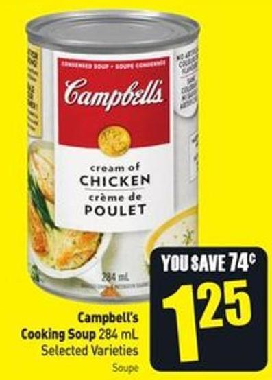 Campbell's Cooking Soup 284 mL