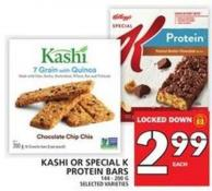 Kashi Or Special K Protein Bars