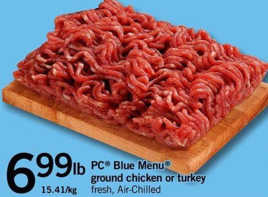 PC Blue Menu Ground Chicken Or Turkey