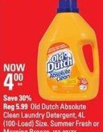 Old Dutch Absolute Clean Laundry Detergent