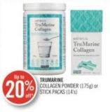 Trumarine Collagen Powder (175 G) or Stick Packs (14's)