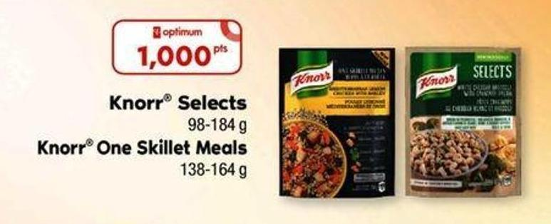 Knorr Selects - 98-184 g Knorr One Skillet Meals - 138-164 g