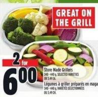 Store Made Grillers 340 - 440 g