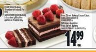 Front Street Bakery Cream Cakes Chocolate Strawberry Or Strawberry