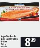 Aquastar Pacific Pink Salmon Fillets - 567 G