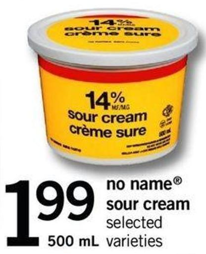 No Name Sour Cream.500 ml