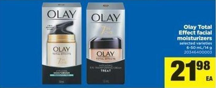 Olay Total Effect Facial Moisturizers - 6-50 Ml/14 G