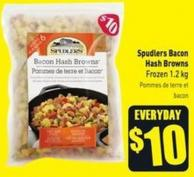 Spudlers Bacon Hash Browns Frozen 1.2 Kg