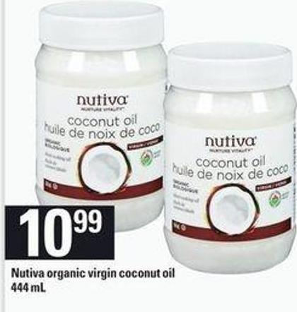 Nutiva Organic Virgin Coconut Oil - 444 mL