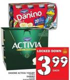 Danone Activia Yogurt Or Danino