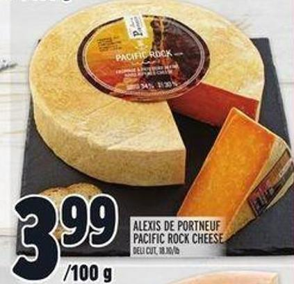 Alexis de Portneuf Pacific Rock Cheese