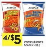 Compliments Snacks