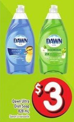 Dawn Ultra Dish Soap 828 mL