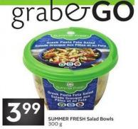 Summer Fresh Salad Bowls
