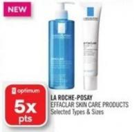 La Roche-posay Effaclar Skin Care Products