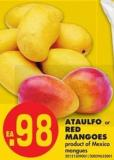 Ataulfo or Red Mangoes