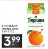Tropicana Orange Juice 1.54-1.75 L