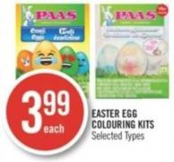 Paas Easter Egg Colouring Kits