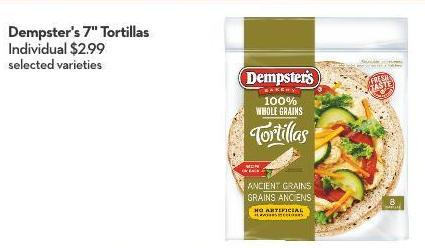 Dempster's 7in Tortillas