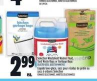 Selection Windshield Washer Fluid - Yard Waste Bags Or Garbage Bags
