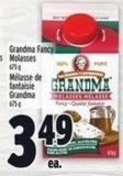 Grandma Fancy Molasses